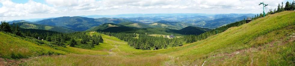 Photo: Widoczki z podejścia. Ogrom gór robi wrażenie.