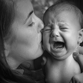 Baby rules ... by Valics Lehel - People Family ( mother, white, black, newborn )
