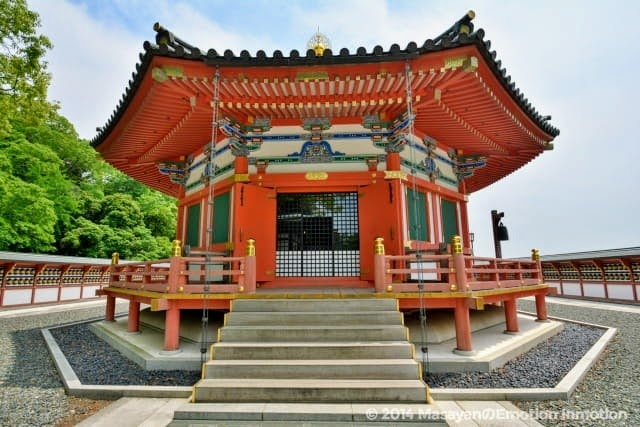 成田山新勝寺の聖徳太子堂