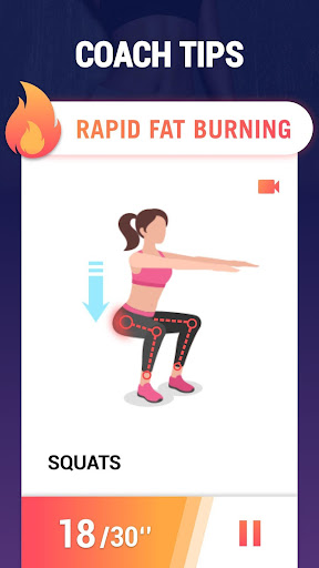 Fat Burning Workouts - Lose Weight Home Workout 1.0.10 fatburningworkout.feeltheburn.burnfatworkout apkmod.id 4