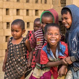 Contented by Jyotirmoy Mitra - Babies & Children Children Candids ( joy, children, playing, playful, joyful,  )