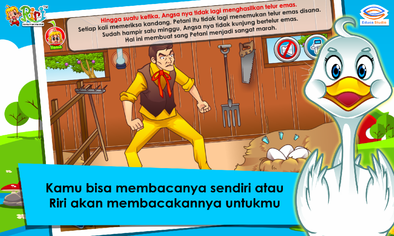 Cerita AnakAngsa Telur Emas Apl Android Di Google Play