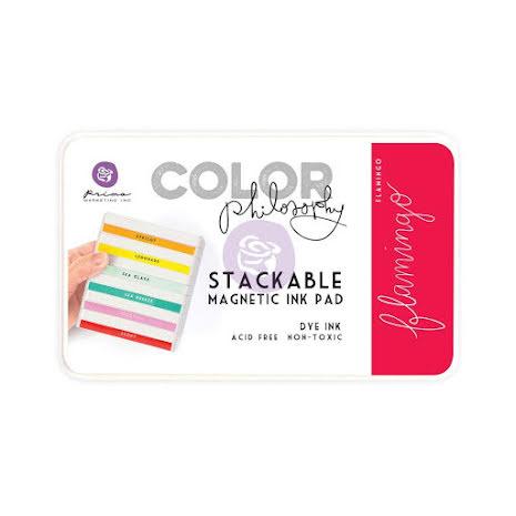 Prima Color Philosophy Dye Ink Pad - Flamingo UTGÅENDE