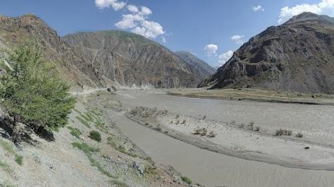 Panj valley near Qala-i-Khumb.