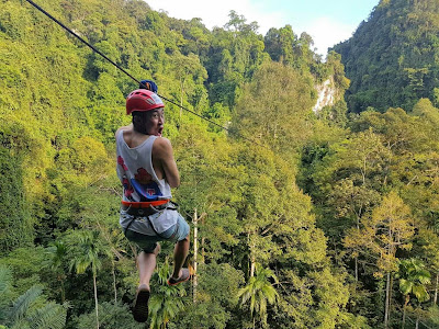 2-Hours Thai'd Up Zip Line Adventures in Krabi