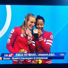 Photo: Bravo @eheymans et @jennabel91 #GoCanada #jo2012 #Olympics