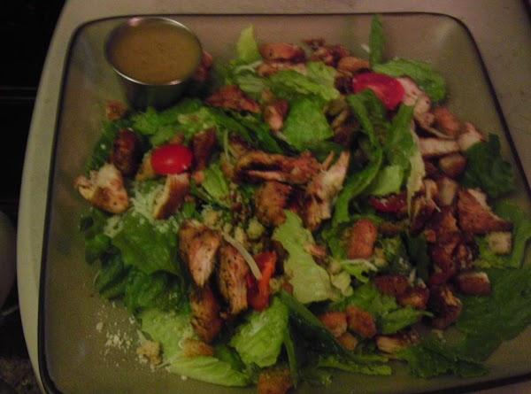 Balsamic Chicken Caesar Salad Recipe