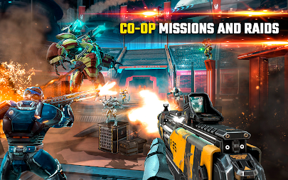 SHADOWGUN LEGENDS - FPS PvP Free Shooting Games APK screenshot thumbnail 14