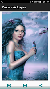 Fantasy Girls Wallpapers HD - náhled