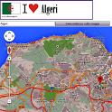 Algiers map icon