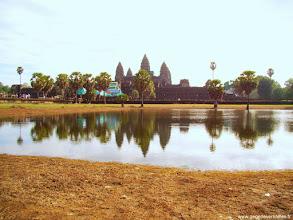 Photo: #018-Angkor Vat. Site classé au Patrimoine mondial de l'Unesco.