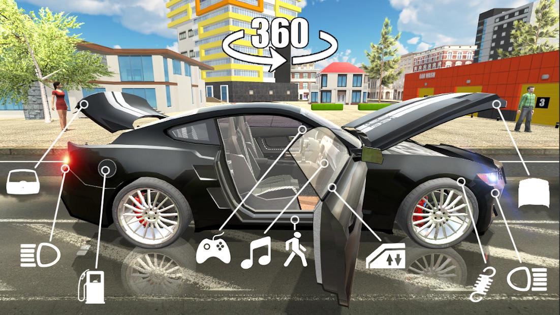 Car Simulator 2 Android App Screenshot