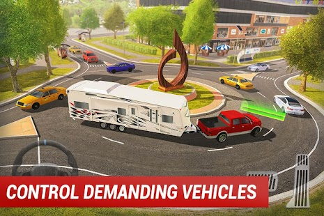 Roundabout 2: A Real City Driving Parking Sim Screenshot