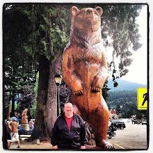 Photo: Wood carved bear in Hope, BC #intercer #hope #britishcolumbia #canada #bear #brown #statue #travel #relax #animal #tree #trees #street #town #city #man #visit - via Instagram, http://instagram.com/p/cuHON-pfka/