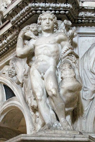 Nicola Pisano's seminal statue of Fortitude is often referenced as the start of the Italian Renaissance.
