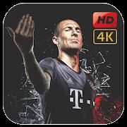 Arjen Robben Wallpaper HD 4K icon