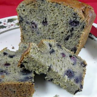 Sugar Free Blueberry Banana Bread