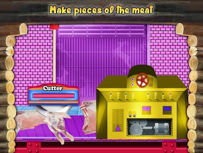Meat Factory Cooking Chef - Game for kids- screenshot thumbnail