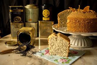 Photo: Earl Grey Tea Chiffon Cake - http://lasrecetasdemanu.blogspot.com.es/2014/07/earl-grey-tea-chiffon-cake.html?m=0 - Manu
