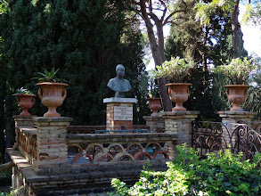 Photo: One of Edward VII's mistresses, helped created the public garden in Taormina
