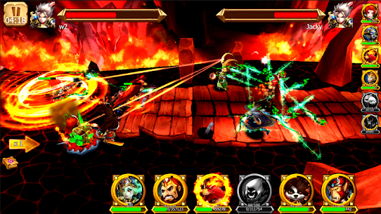 Battle of Legendary 3D Heroes MOD (Rage Skill/Attack Speed) 4