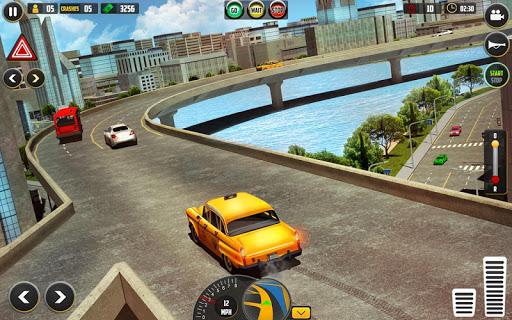 HQ Taxi Driving 3D 1.5 screenshots 8