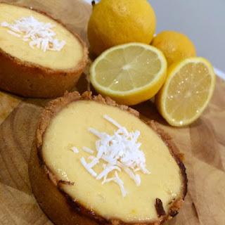 Healthy Lemon Cheesecake Tarts