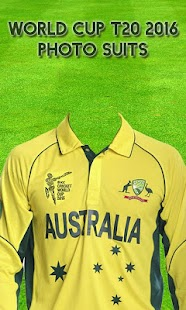 World Cup T20 2016 Photo Suits screenshot