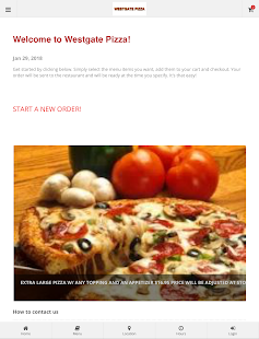 Westgate Pizza Online Ordering- screenshot thumbnail
