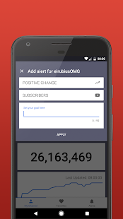 Subscriber Counter for YouTube - náhled
