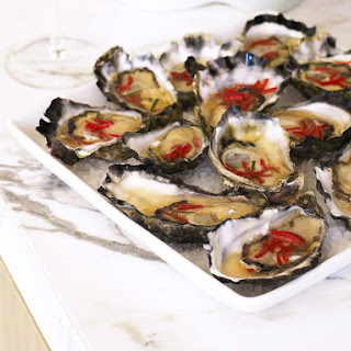 Oysters with Lime Sauce