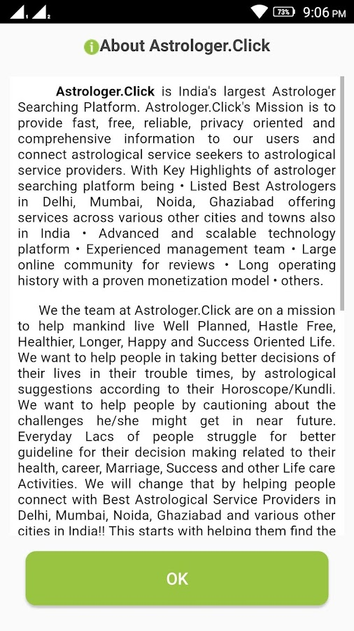 Astrologer.Click Expert- screenshot