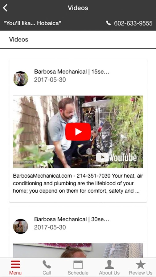 Barbosa Mechanical- screenshot