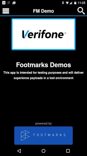 FM Demo VeriFone