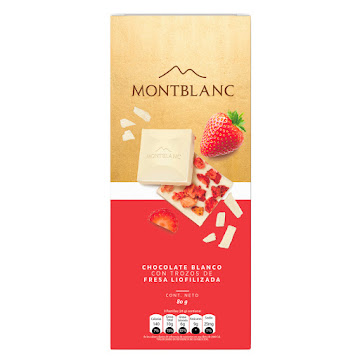 Barra de Chocolate MONTBLAN
