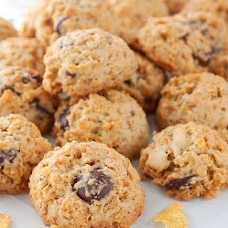 Corn Flakes Chocolate Chips Cookies.