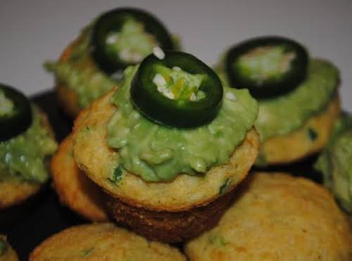 "Jalapeno Cupcakes ""The cornbread is your basic mexican cornbread. The guacamole is..."