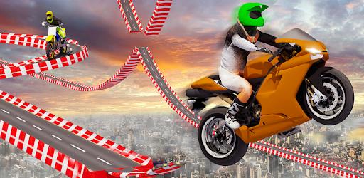 Stunt Bike Impossible Tracks-Race Moto Drive Game