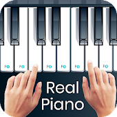 Real Piano -  Piano keyboard 2018
