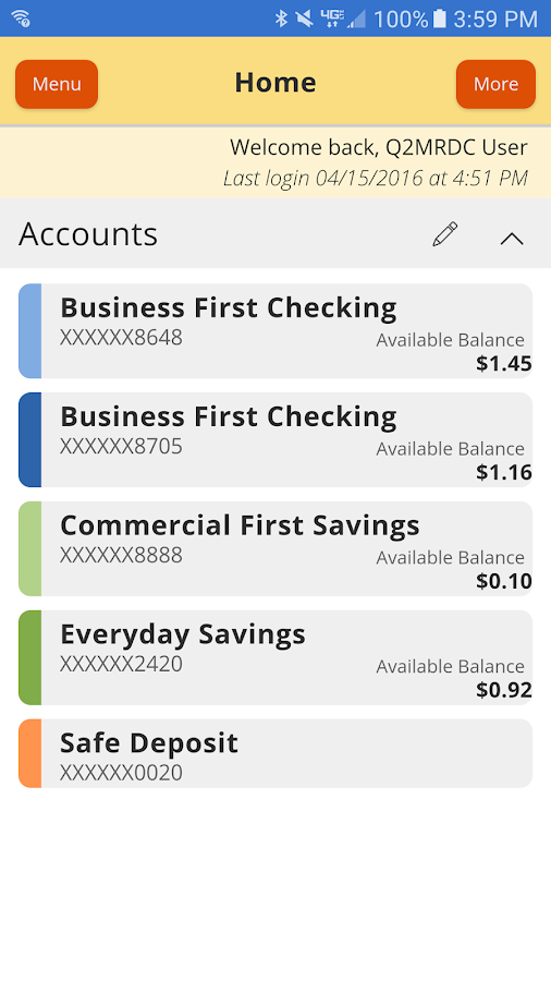First Financial Bank - Mobile- screenshot