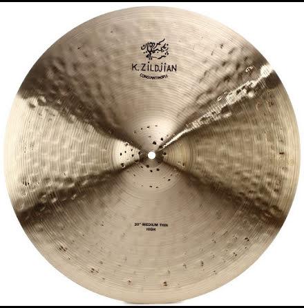 "20"" Zildjian Constantinople - Medium Thin High Ride"