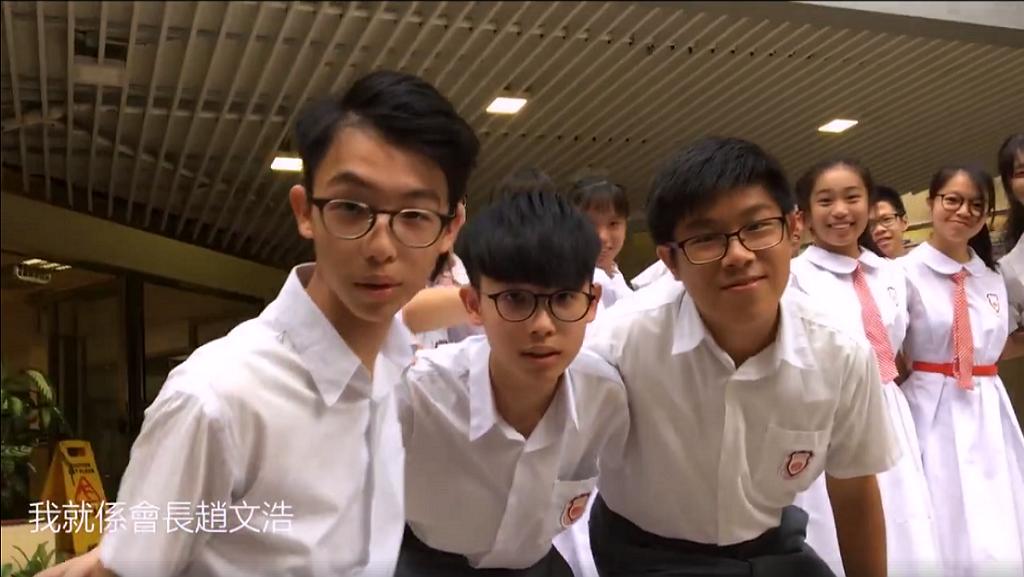 屯門一中學候選學生會Pixel「上莊」Rap片勁過大學生?
