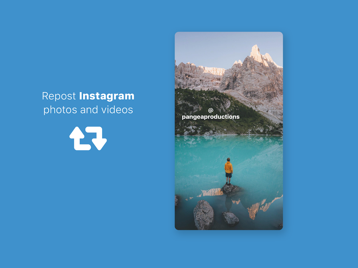 Screenshots of Repost and Save for Instagram for iPhone