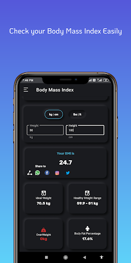 Body Fit Calculator screenshot 2