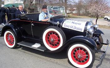 Photo: Mayor Morris and Al Penry - Denton Centennial 2007 ---1907 2007 - http://denton100.com