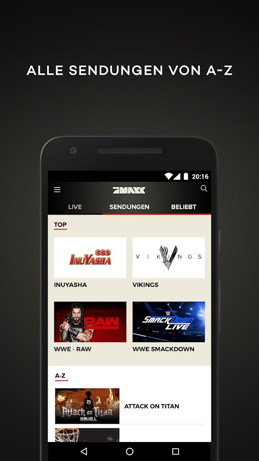Prosieben Maxx Live Stream