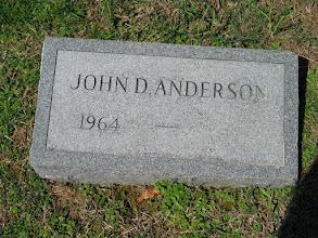 Photo: Anderson, John D.