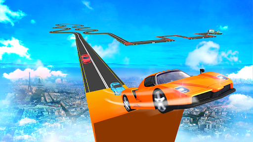 Conducción de automóviles: capturas de pantalla Impossible Racing Stunts & Tracks 7