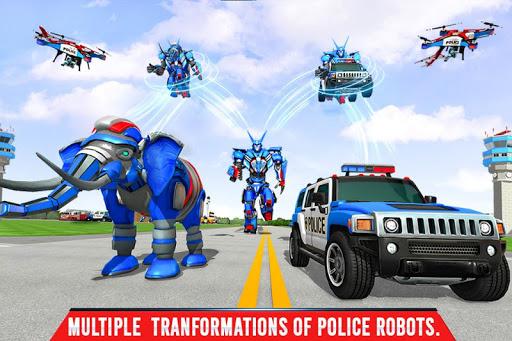 Police Elephant Robot Game: Police Transport Games 1.0.1 2