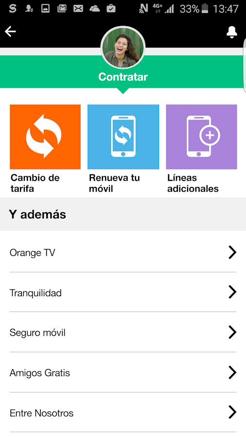 Mi Orange- screenshot